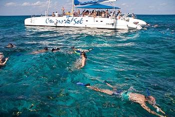 catamaran cruise with snorkeling