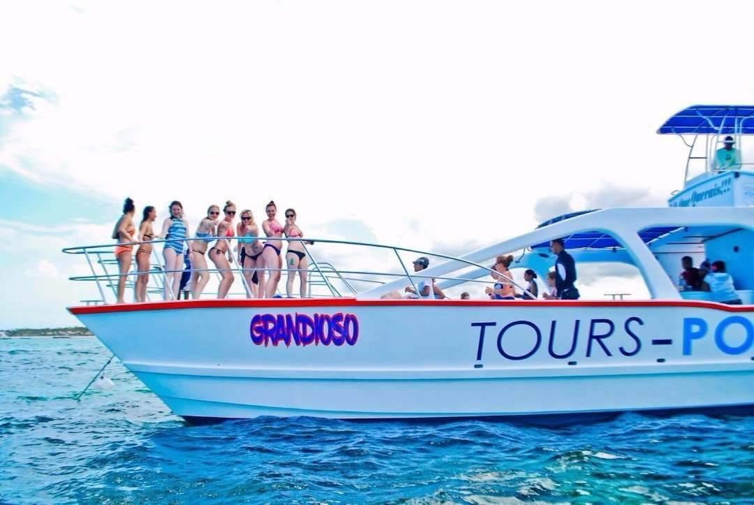 catamaran cruise booze boat